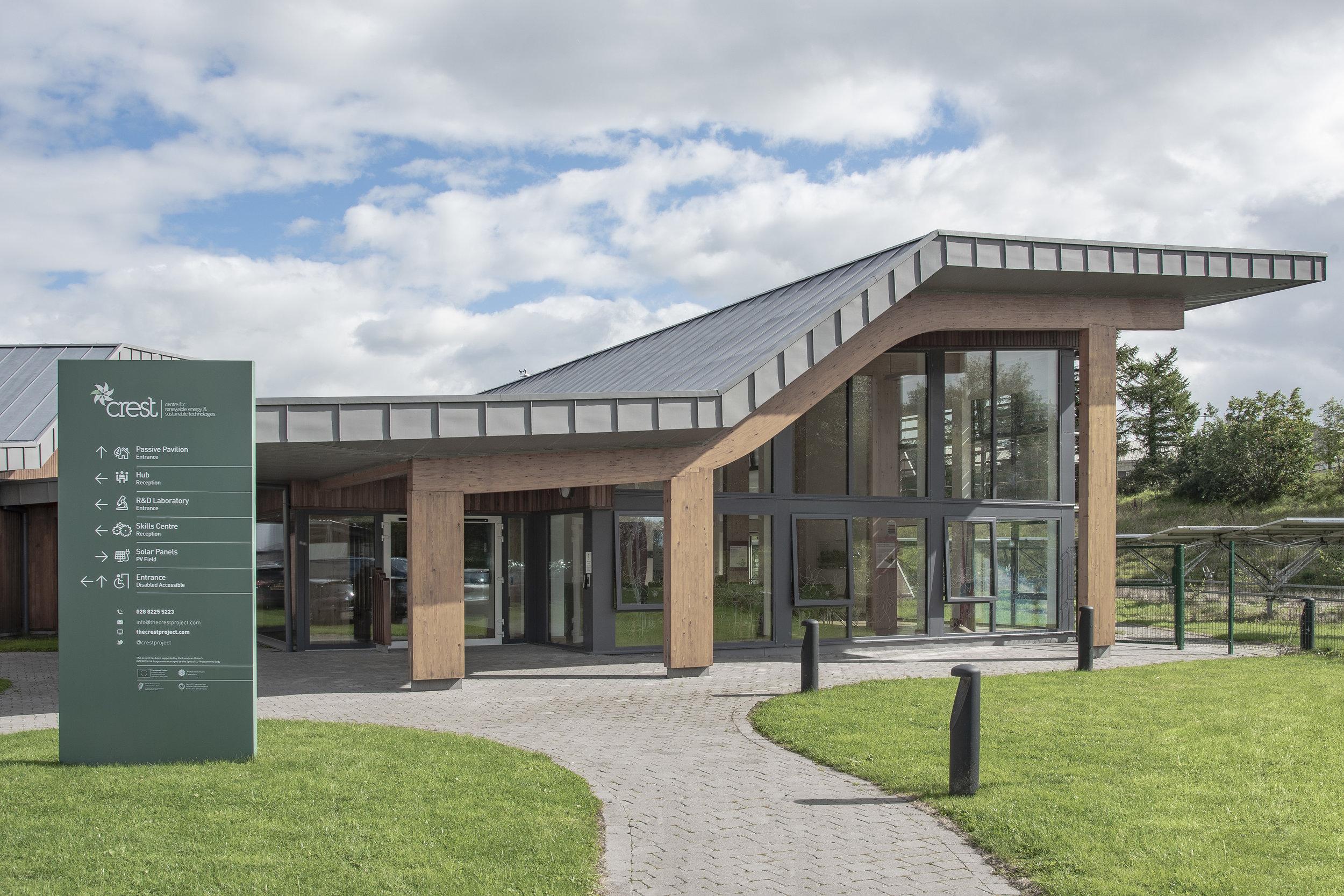 CREST Centre - P assivhaus Standard
