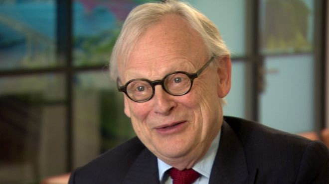 Lord Deben is better known as former UK environment secretary and agriculture minister John Gummer