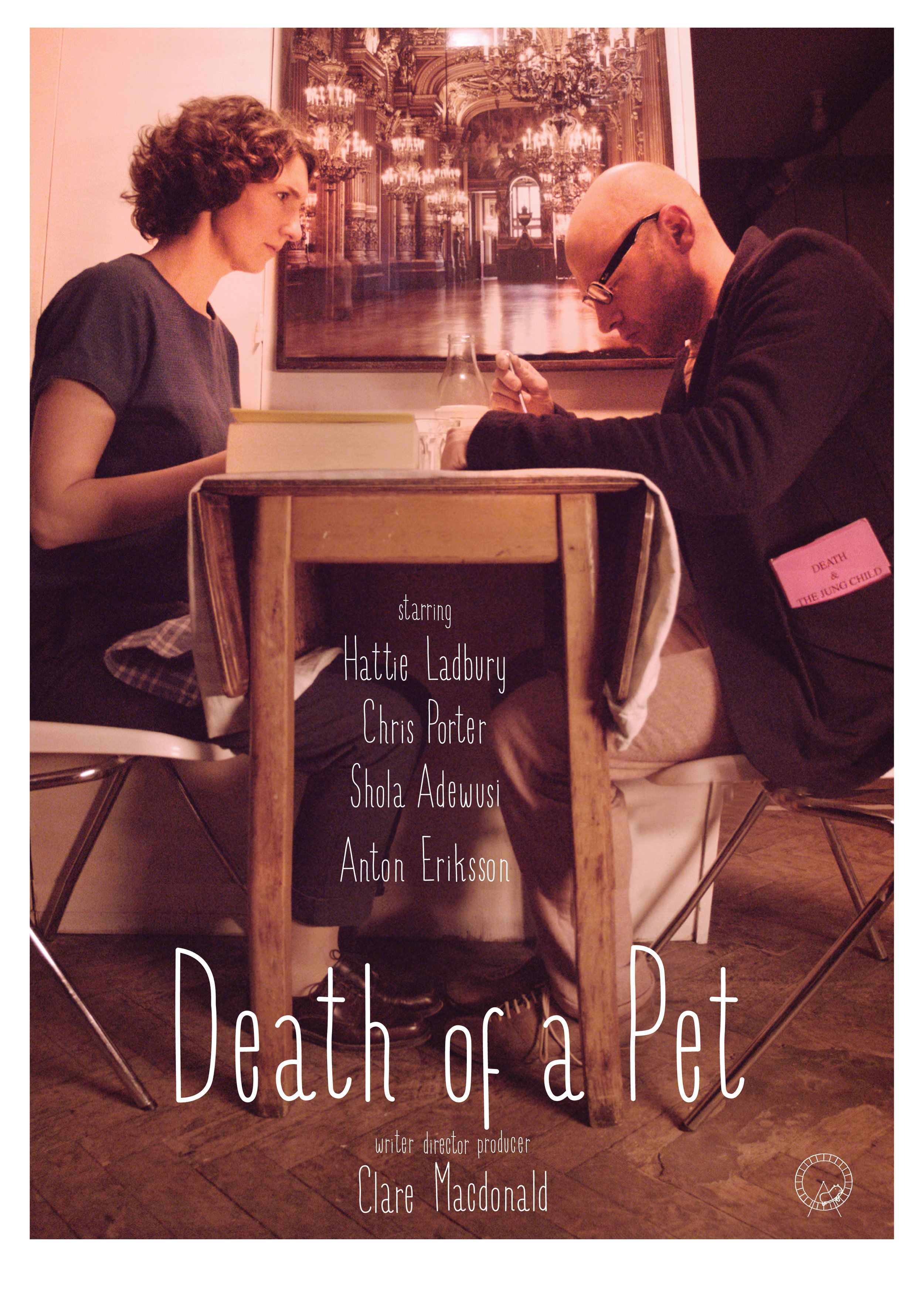 Death of a Pet, movie poster by Clayton Junior, 2013