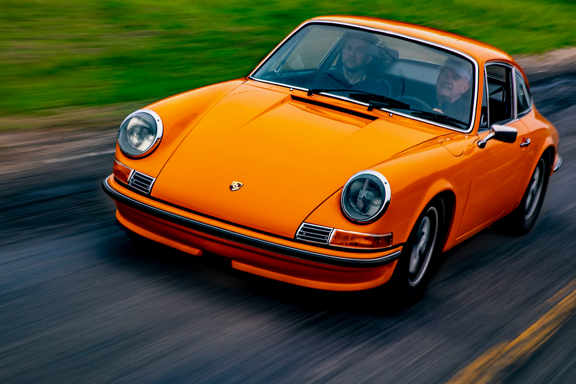 1970 Sports Purpose Signal Orange 911T