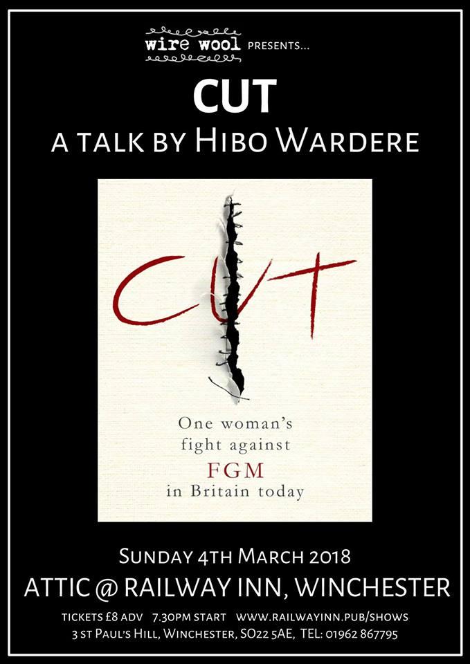 Cut: a talk by Hibo Wardere Sunday, March 4, 2018