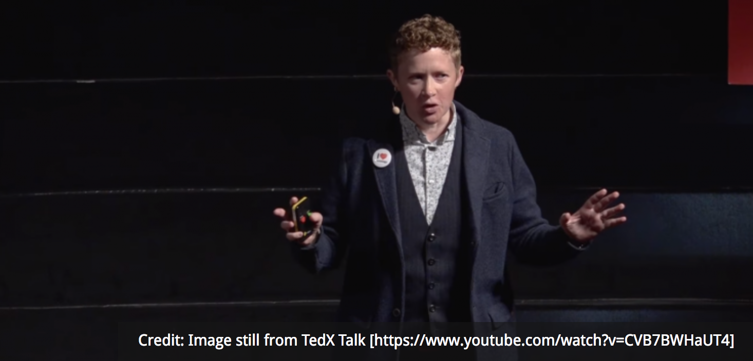 Credit: Image still from  TedX Talk