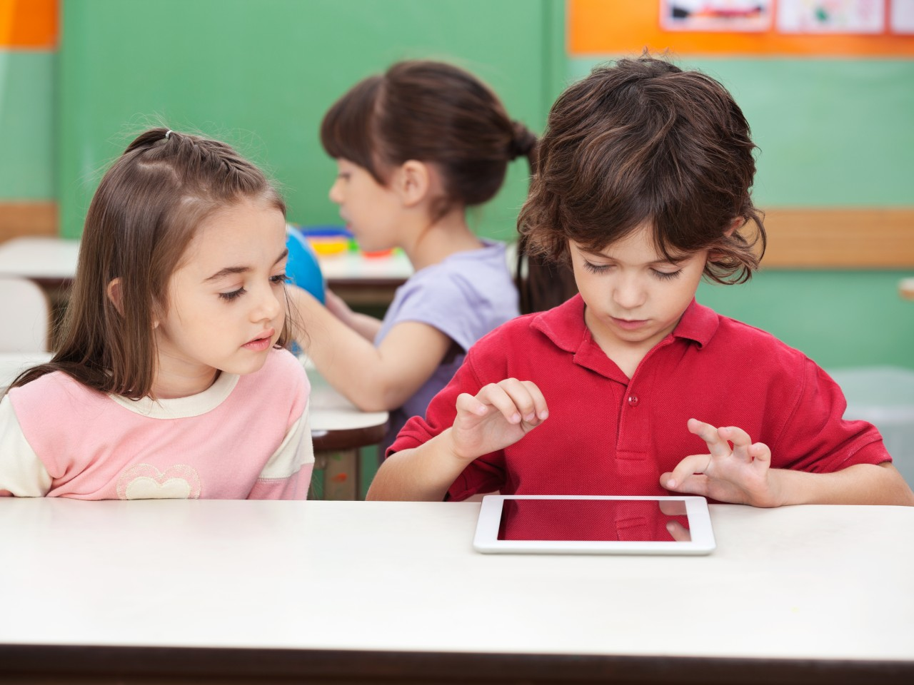 Technology at Woodstock Trinity School, a Private Independent Elementary School in Innerkip Ontario Canada.