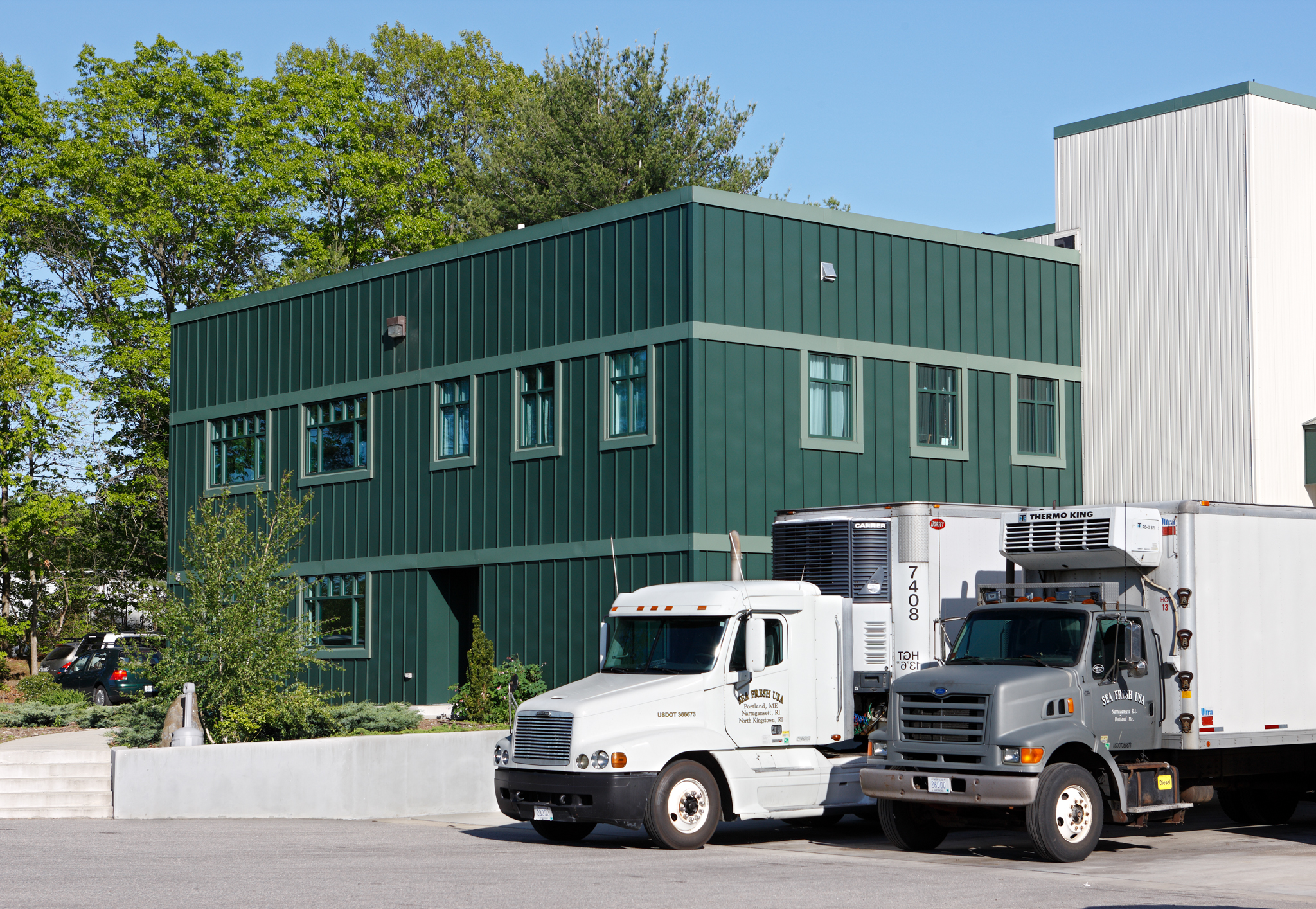 Production Facility in North Kingstown, RI.