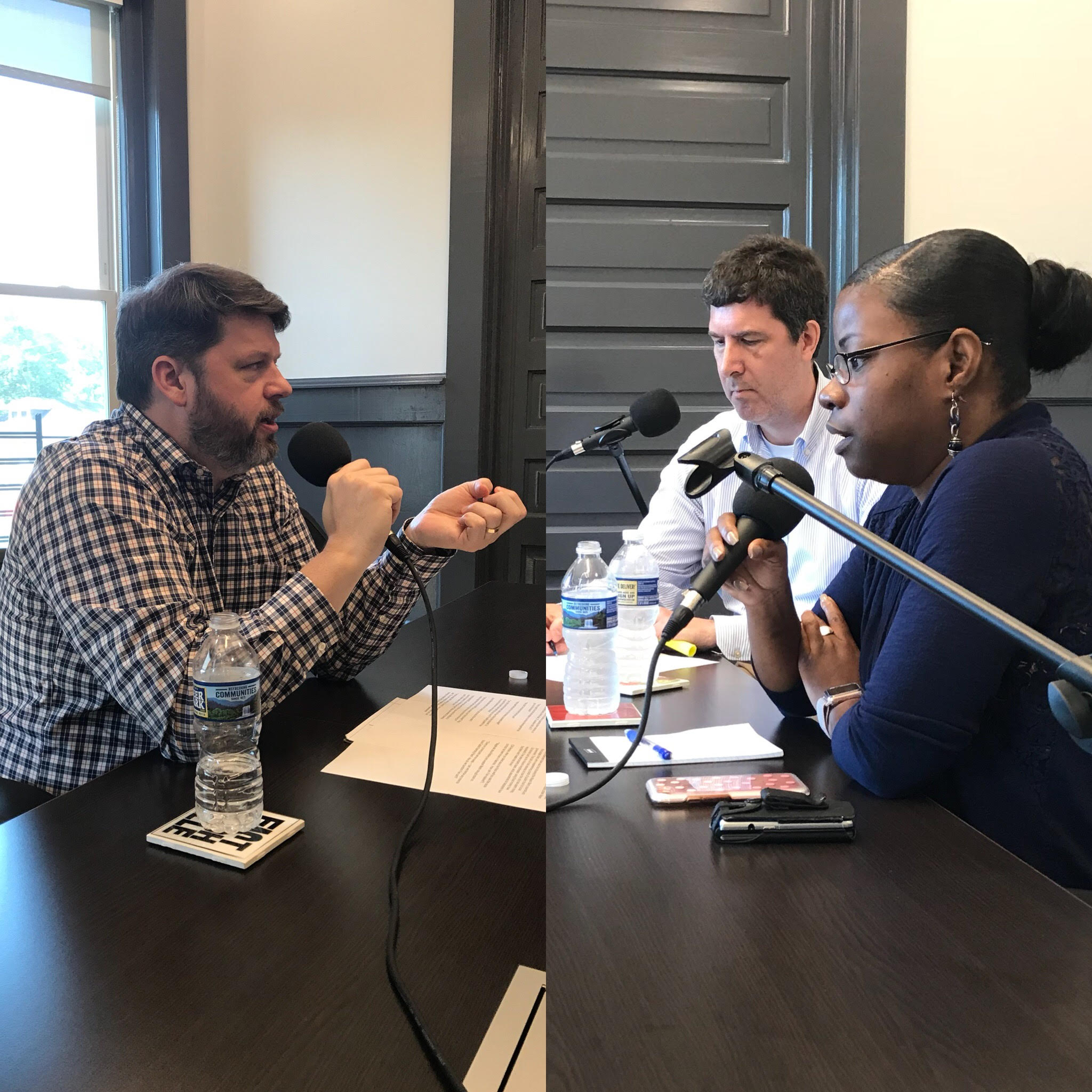 Guests: - Steve Cavendish (left) guest hosted this episode. He interviewed Councilman at-large Bob Mendes and Councilwoman Tanaka Vercher. Vercher represents District 28 and is Chair of the Metro Nashville Budget and Finance Committee.