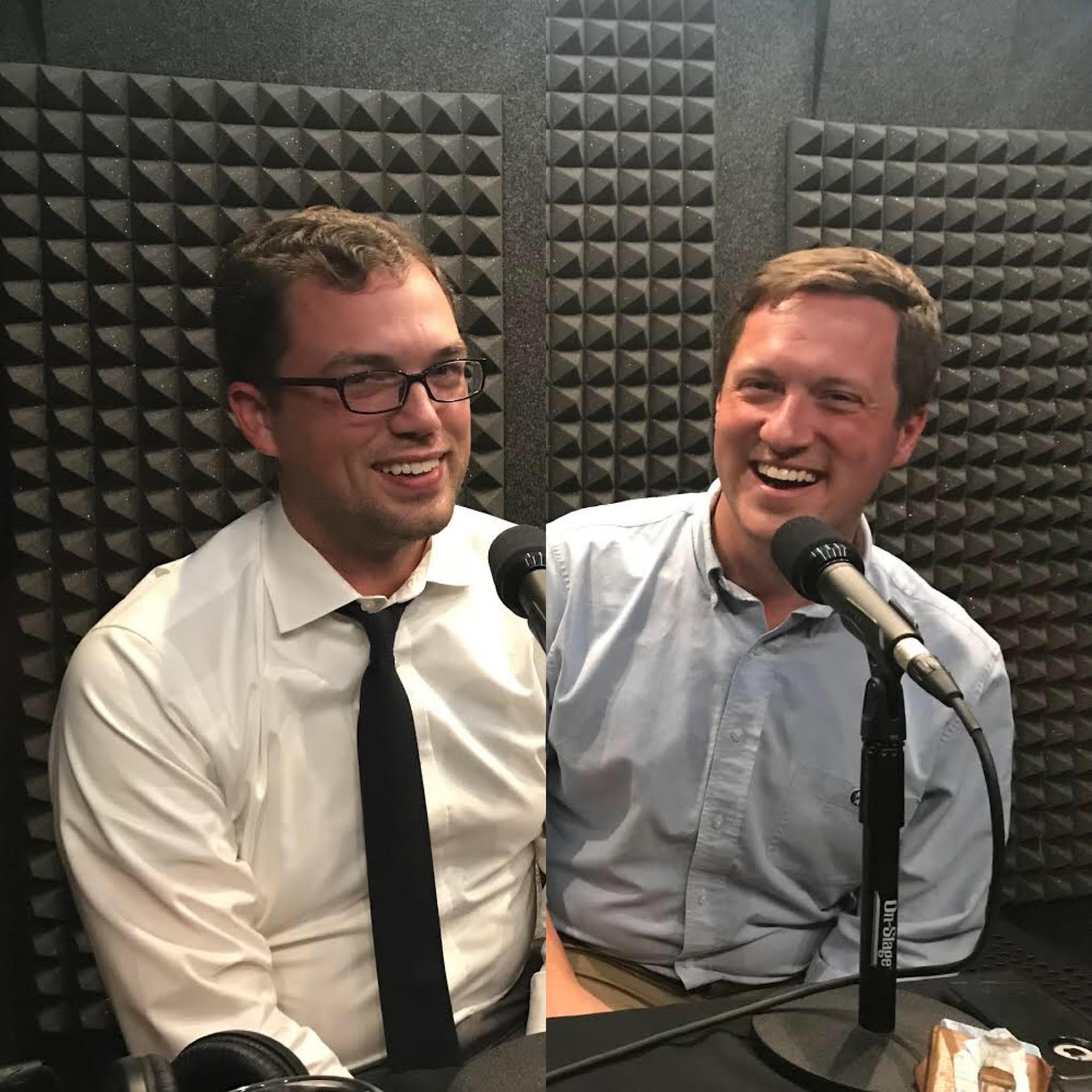Guests: - Kyle Southern (left) and Joseph Williams (right) …in the photo and politically