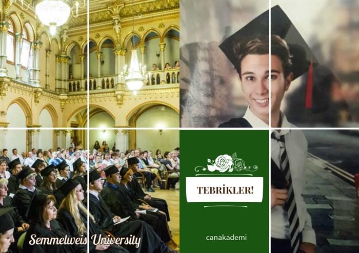 Öğrencimiz Doğa Yağız, dünyanın en iyileri arasında yer alan Semmelweis ve Szeged tıp fakültelerinin her ikisinden de kabul aldı. Macar üniversiteleri tıp giriş sınavında çok büyük bir başarı göstererek ülkemizi en iyi şekilde temsil eden öğrencimizi bu büyük başarısından dolayı kutluyoruz.  Yolun açık olsun Doğa, Avrupa'daki eğitim hayatında başarılar, mutluluklar diliyoruz...