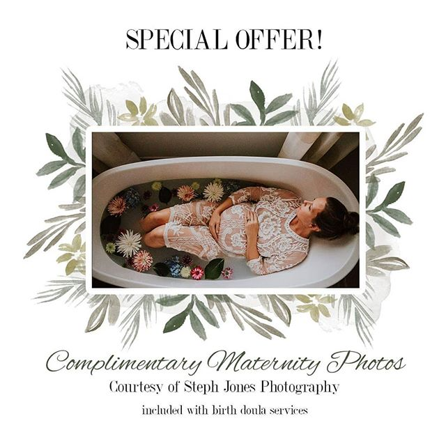Score a FREE maternity photography session, courtesy of @stephjphoto, when you book labor & birth doula services! That's a $450 value!  Inquire at birthandbeyondswfl@gmail.com