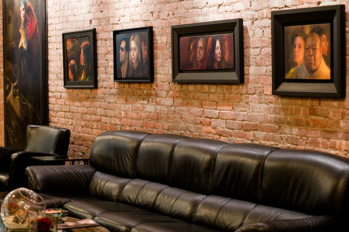 Beautiful Tribeca Offices Psychotherapy with High end art