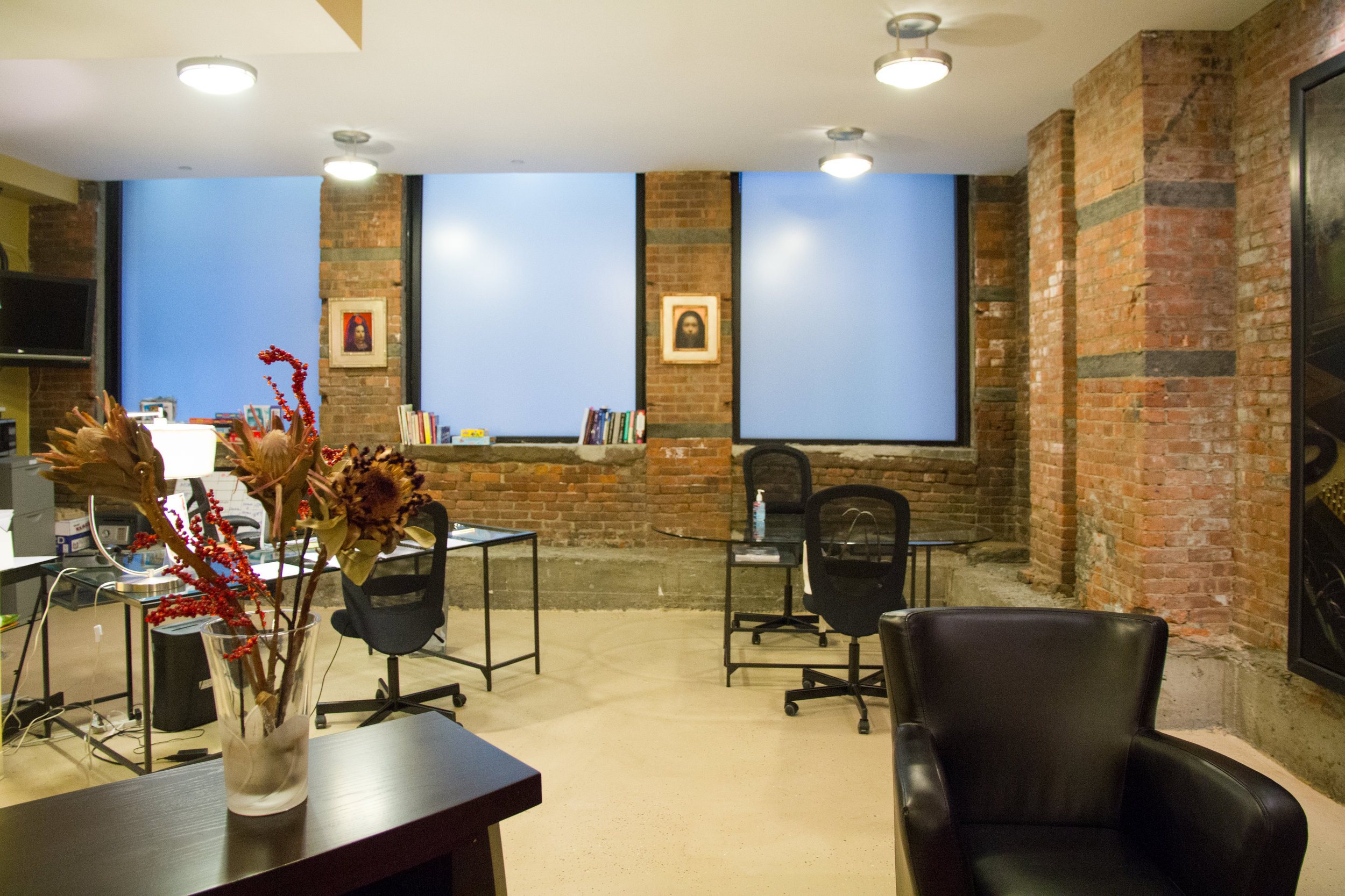 Huge Space natural light offices downtown tribeca financial district wall street psychiatrist psychology psychotherapists