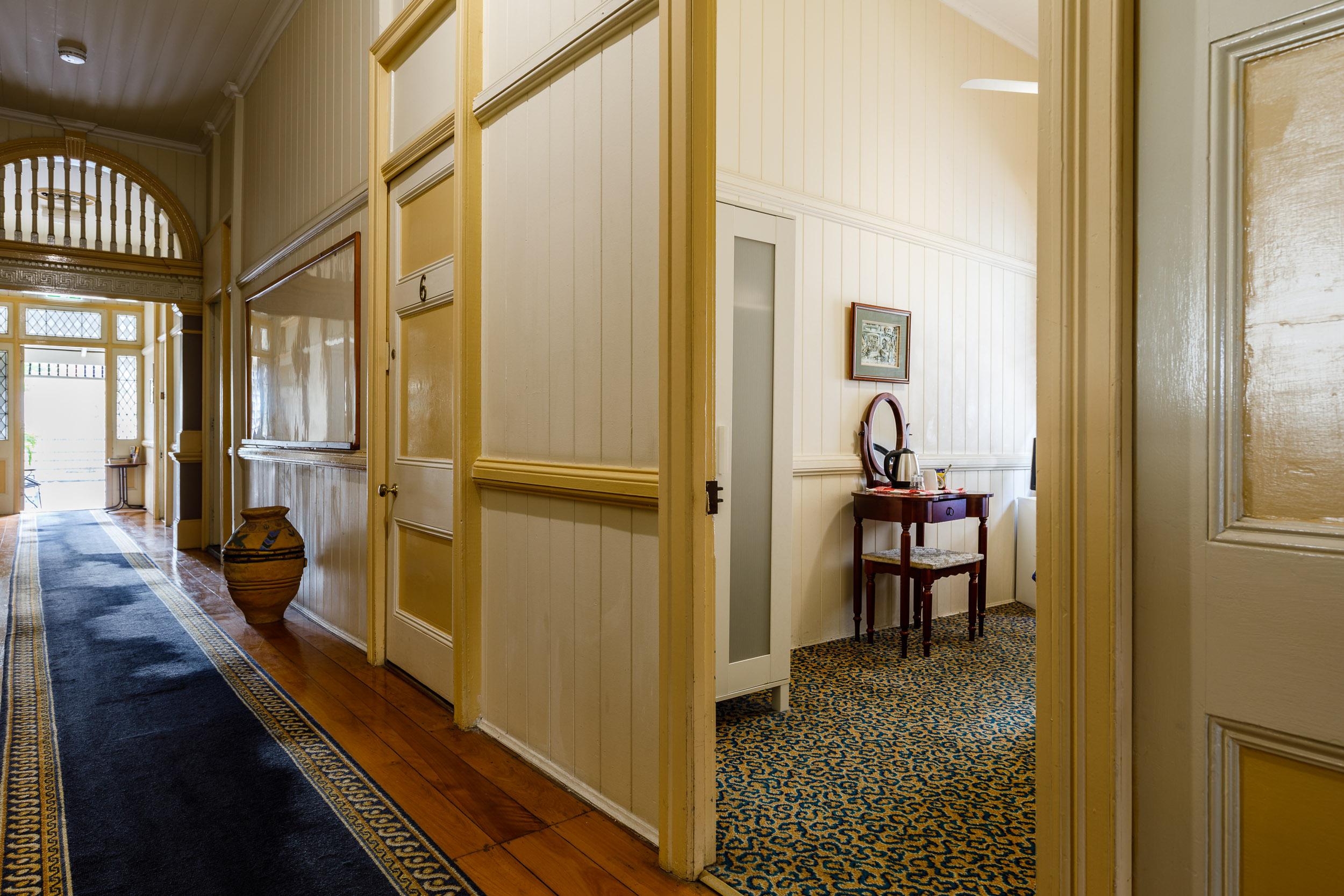 Single Room Entrance