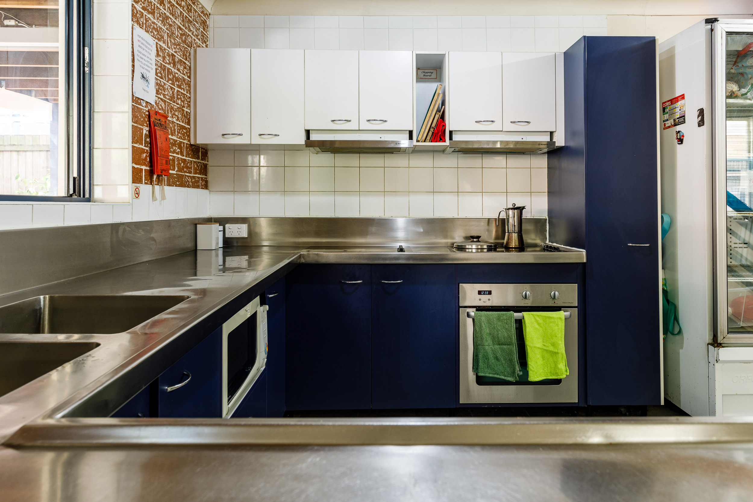 Guest Fridge & Kitchen
