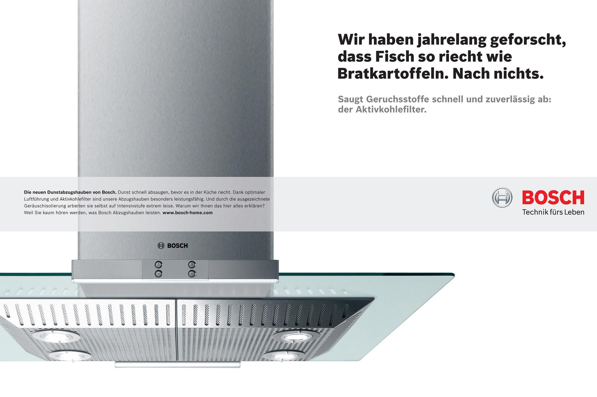 Bosch, Image Kampagne, Agentur: DDB Berlin