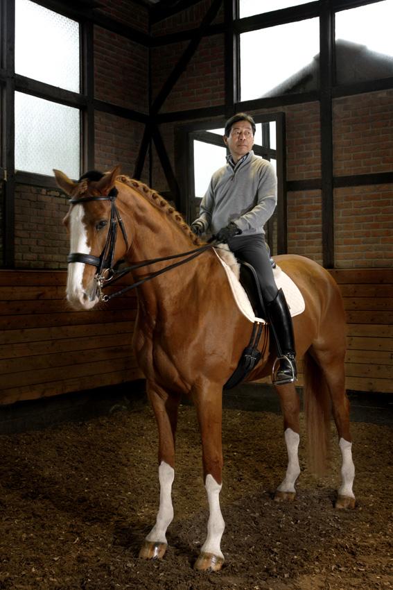 Hiroshi Hoketsu, 69, dressage rider