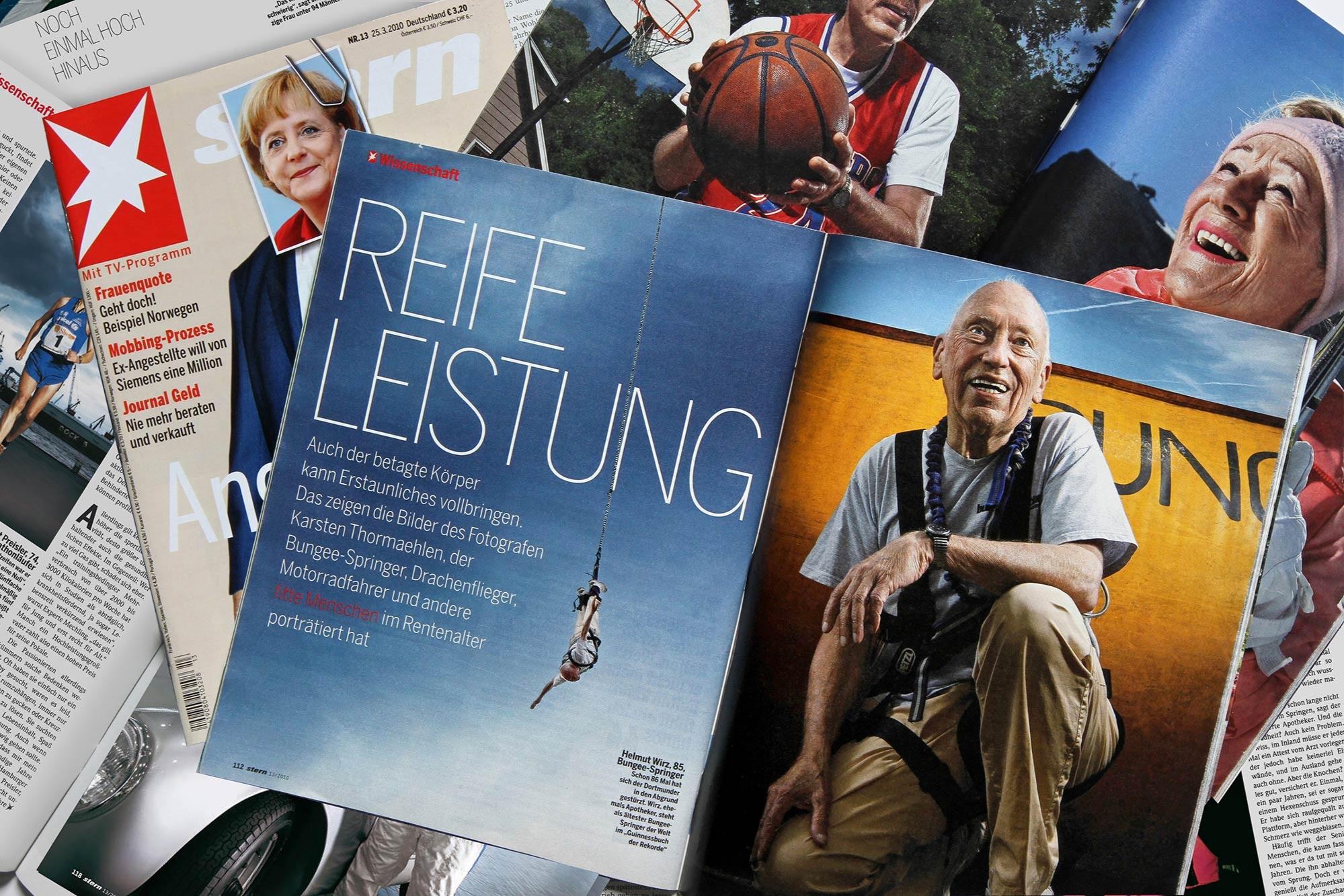 Silver Heroes im Stern Ausg. 13/2010