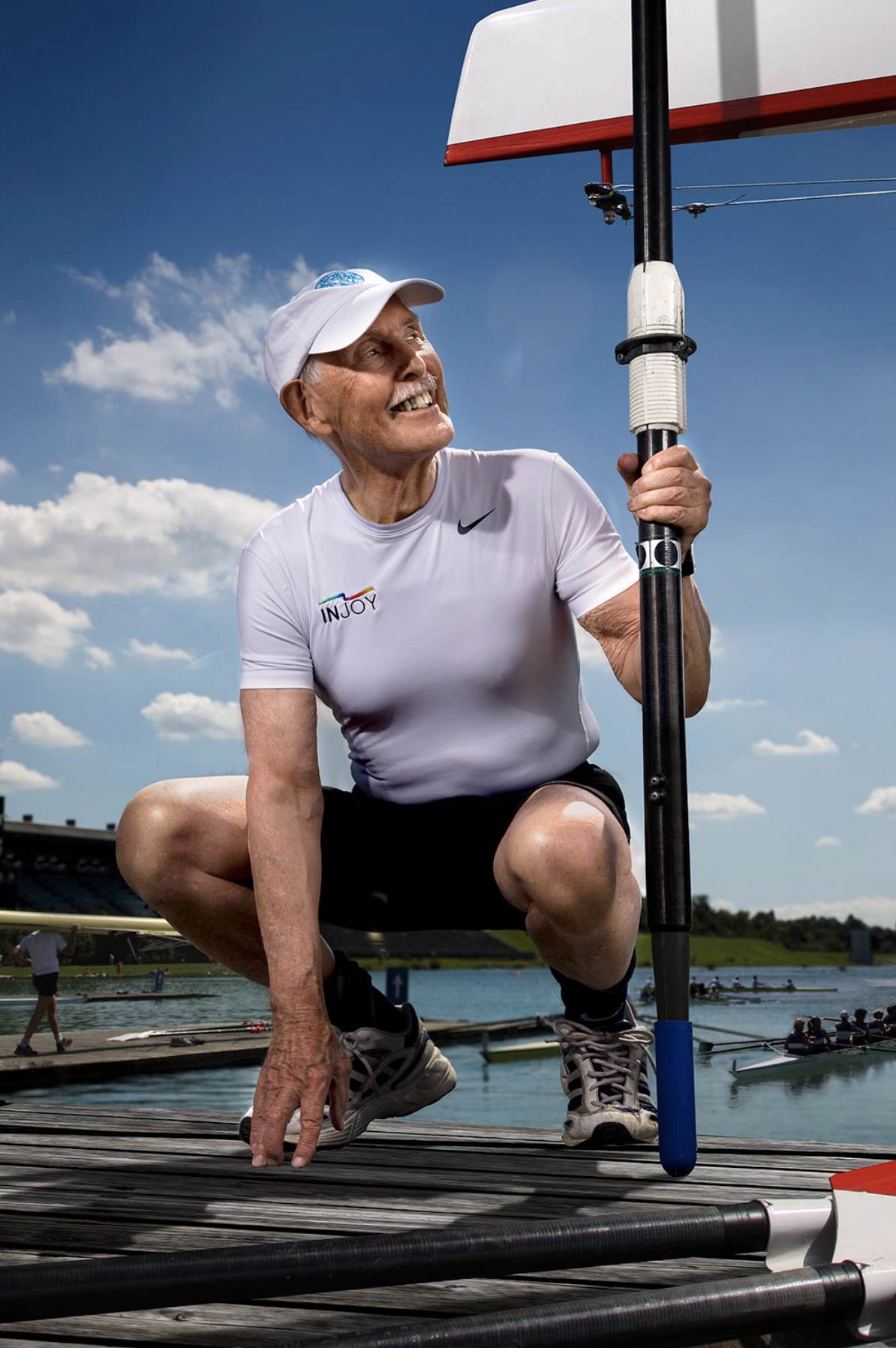 Charles Eugster, 90, rower