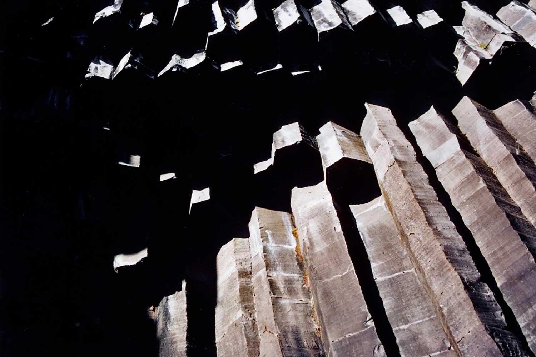 Svartifoss, Island, 1985