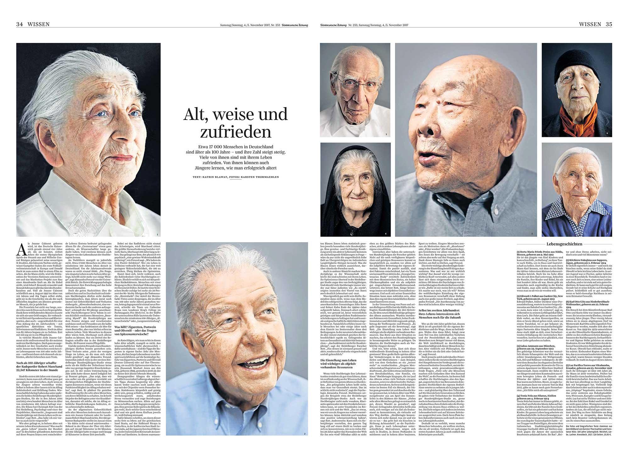 Süddeutsche Zeitung, Ausg. 253, 4./5. November 2017