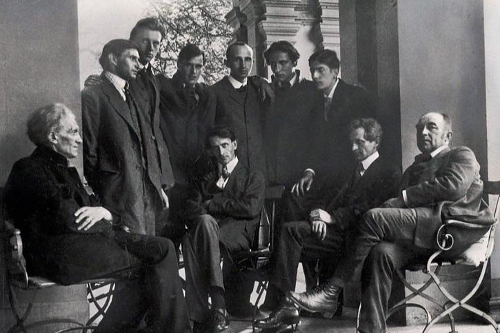 George-Kreis, Heidelberg, Pfingsten 1919