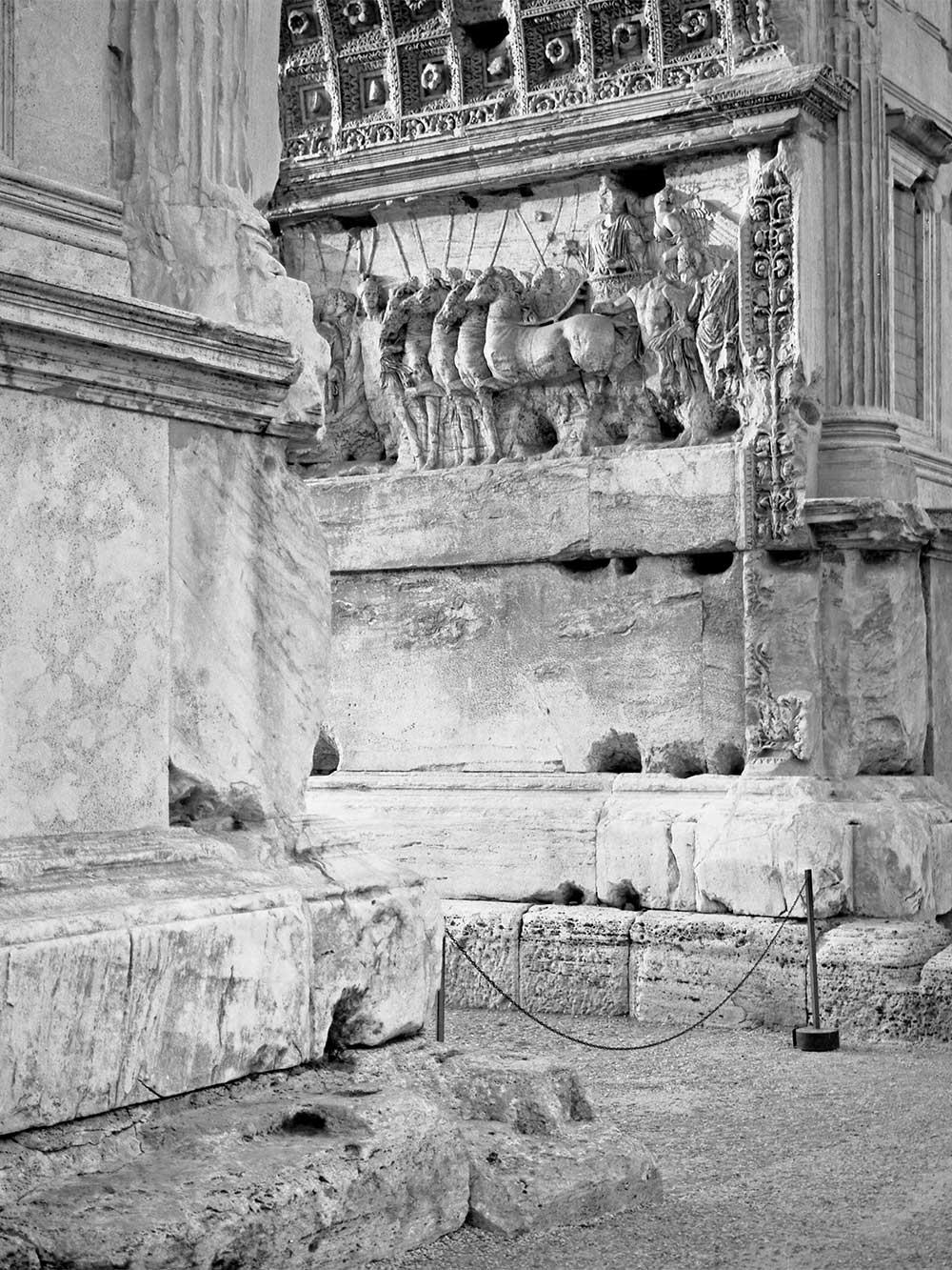 Titusbogen, Forum Romanum, Rom, Italien, 2003