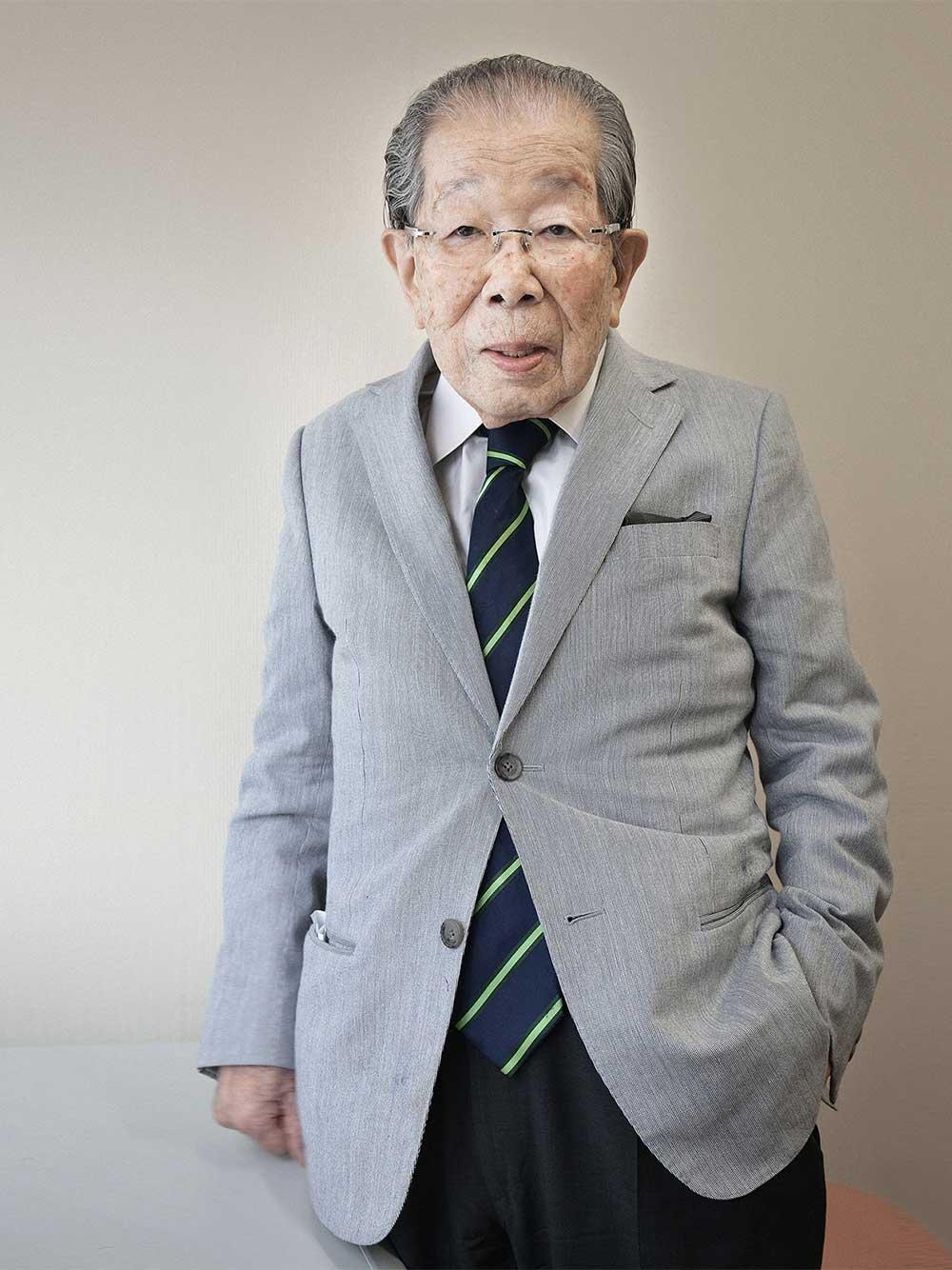 Dr. Shigeaki Hinohara, 102, Tokio, Japan, 2013