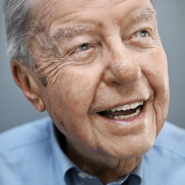 "Ed Palkot, 102, aus dem Buch ""100 Jahre Lebensglück"", USA, 2015"