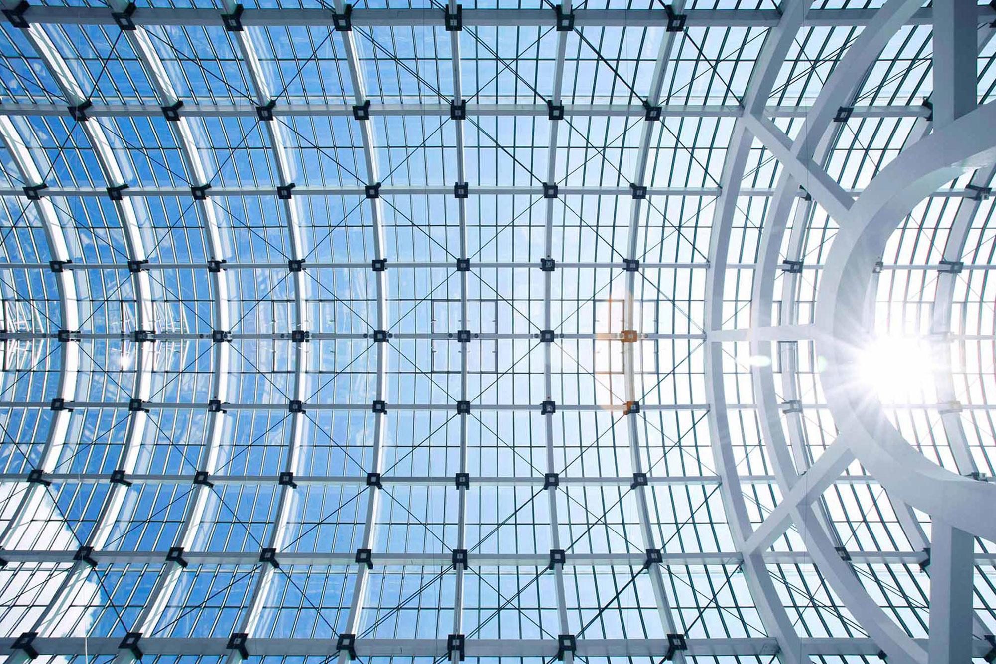 Galleria, Messe Frankfurt, Frankfurt am Main (architect: Ingo Schrader)