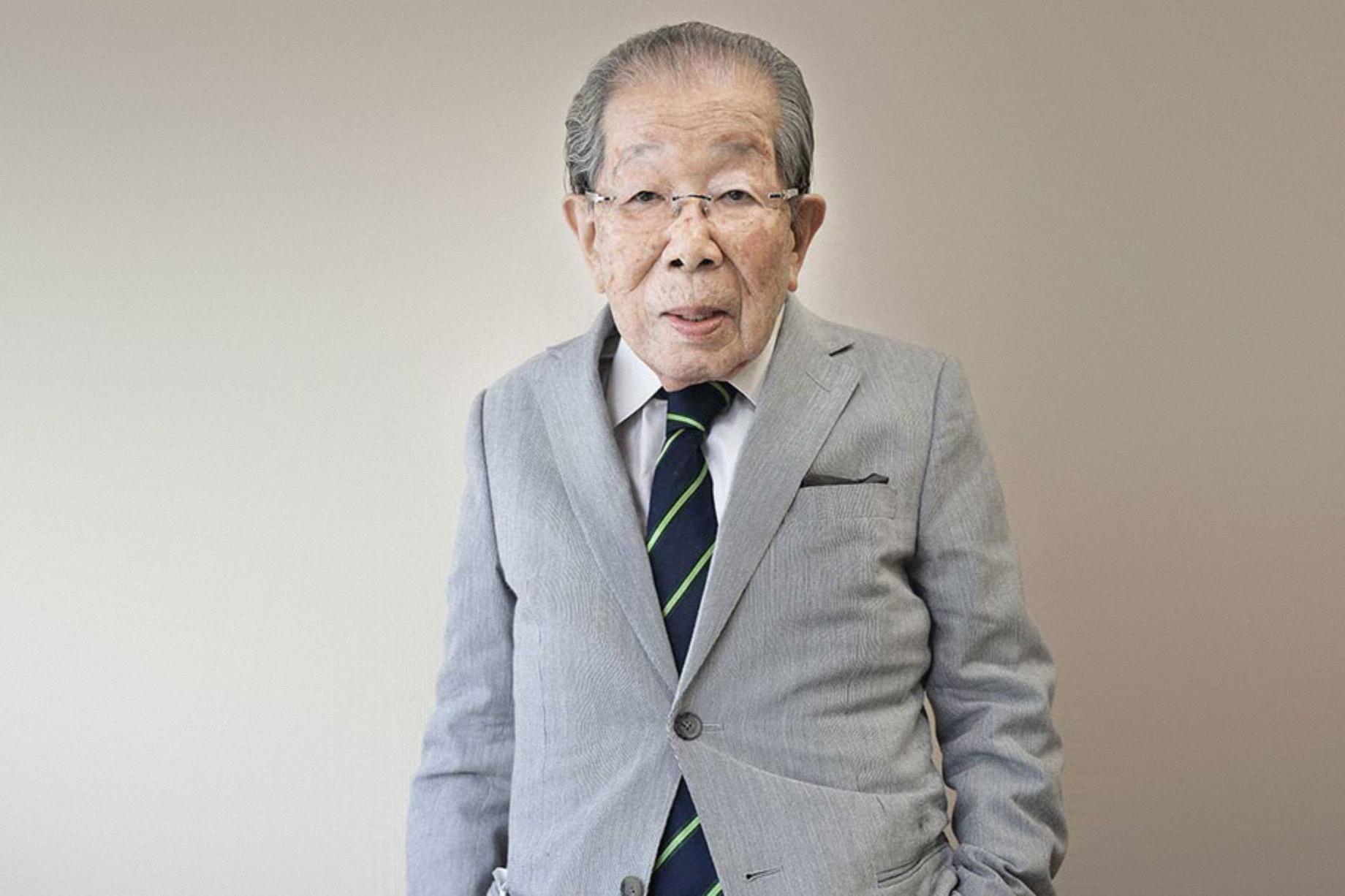 Dr. Shigeaki Hinohara, 102, Tokyo, Japan, 2013 © Karsten Thormaehlen