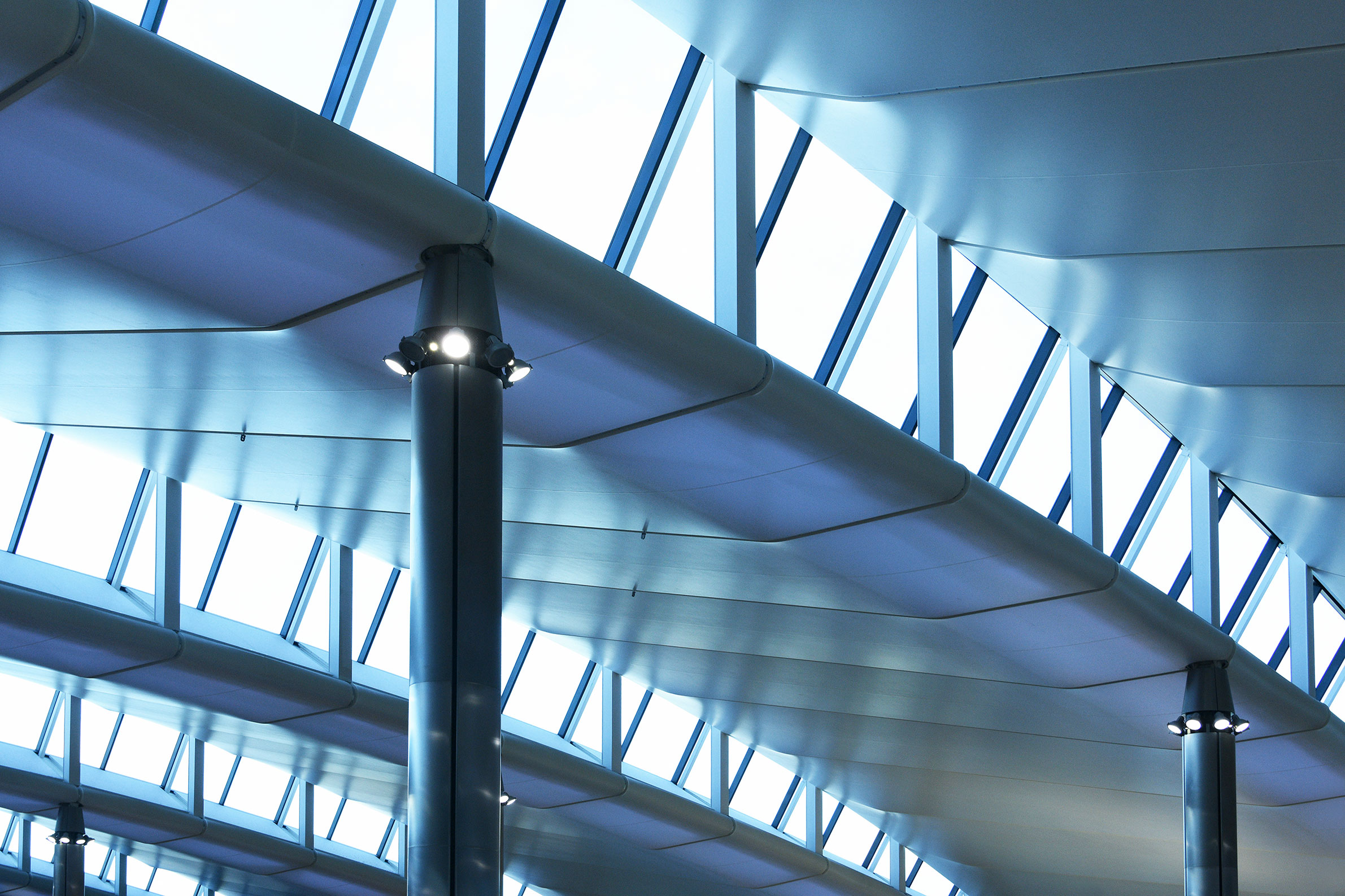 Heathrow Terminal 2, London (architect: Luis Vidal)