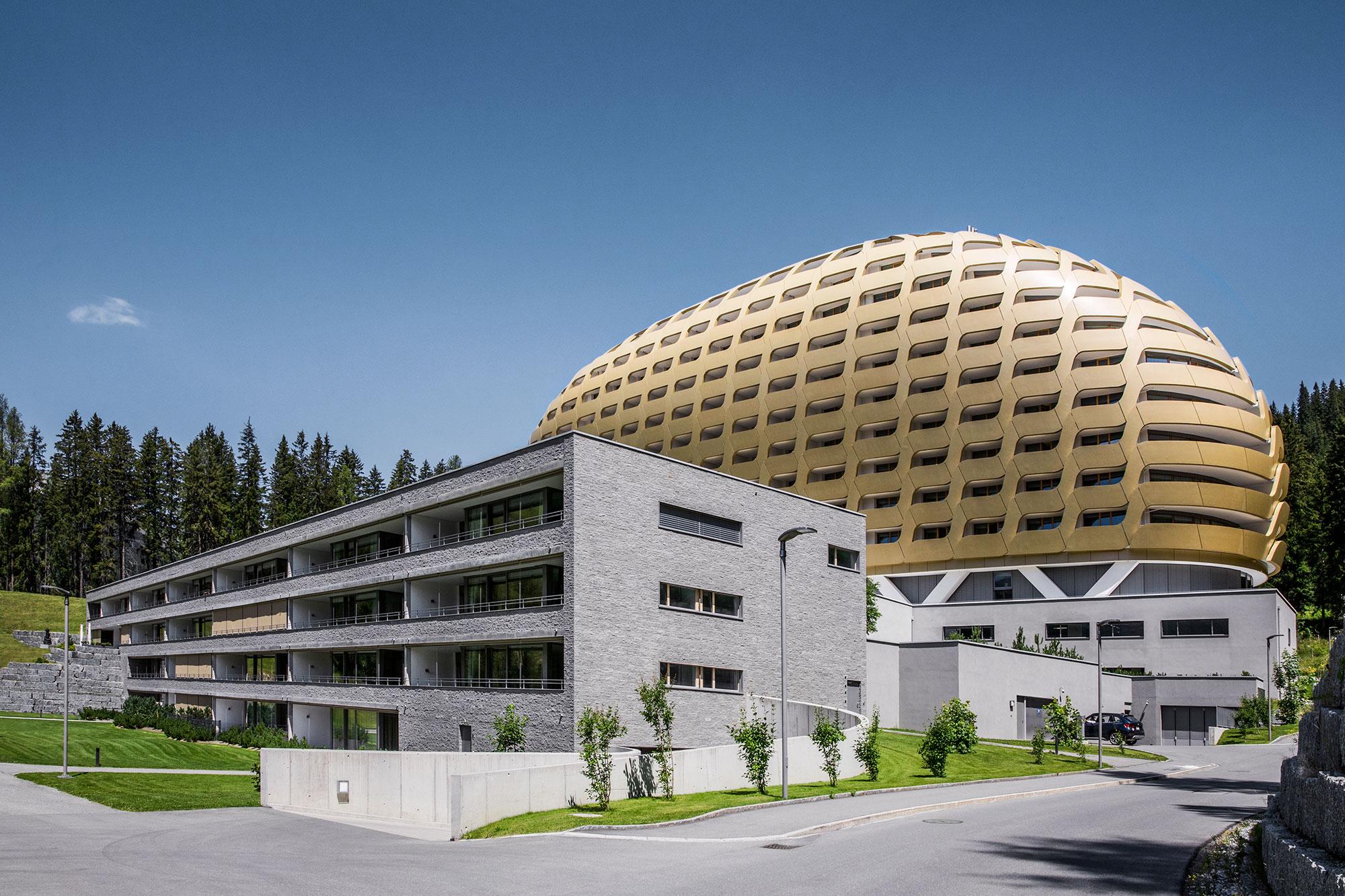 InterContinental Davos (architect: Oikios)