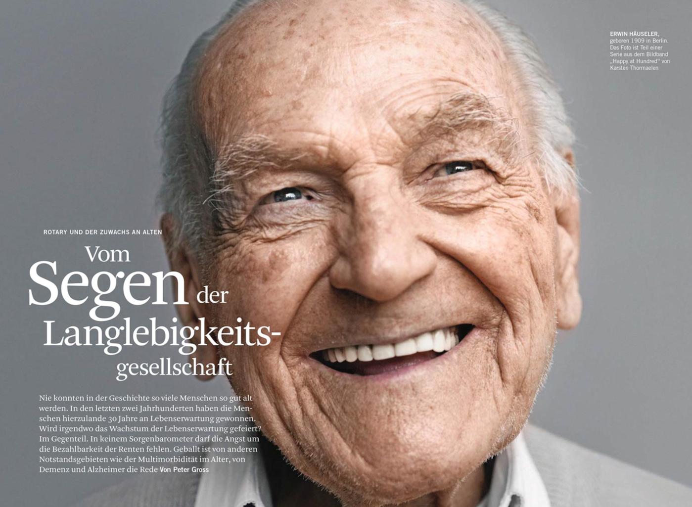 Rotary Magazin, Ausgabe 1/2015