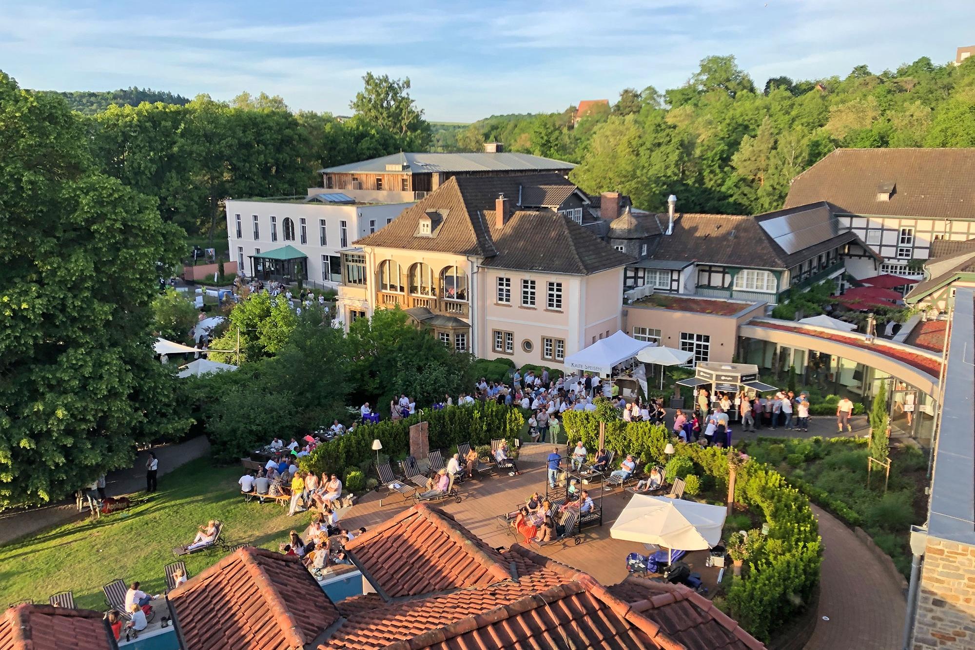 """Veranstaltung """"Wein im Park"""" am 1. Juni im BollAnts"""