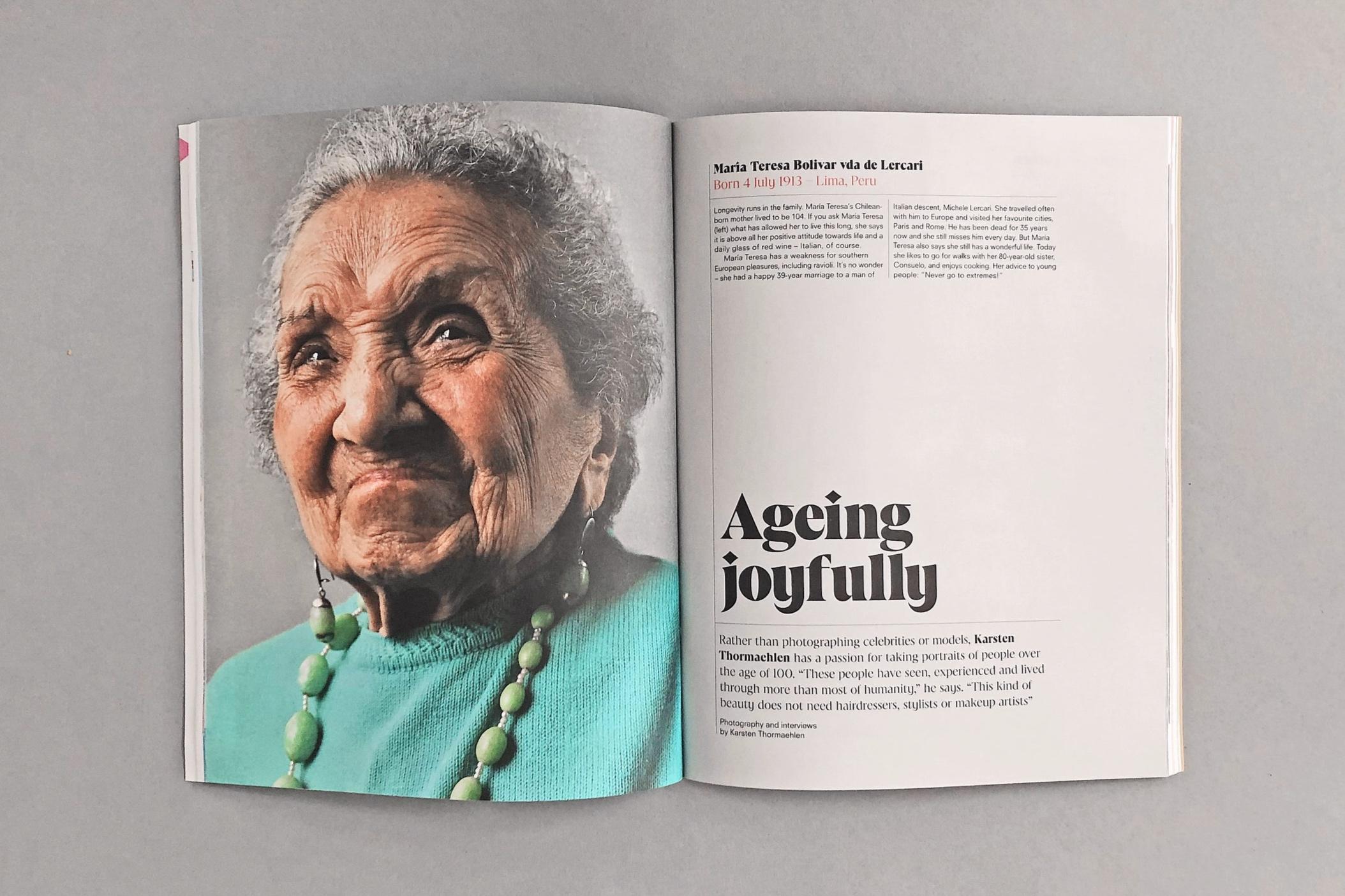 Maria Teresa Bolivar vda de Lercari, 102, Lima, Peru, 2015 © Karsten Thormaehlen