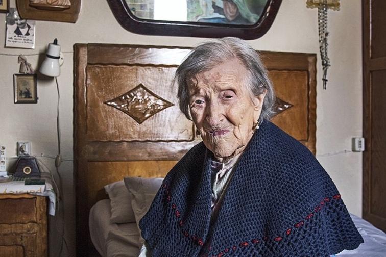 Emma Morano (1899-2017), Verbania, Italien, 2016