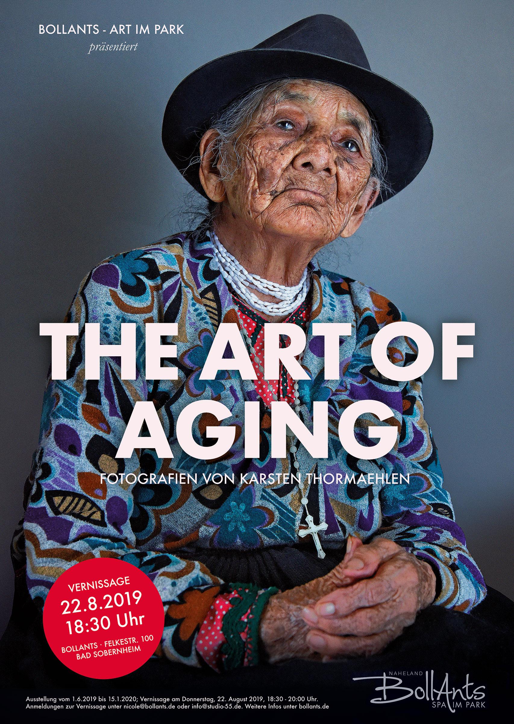 Marìa, 103, aus dem Buch  Aging Gracefully  (dt. Titel:  100 Jahre Lebensglück ), Ecuador, 2015