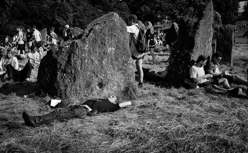 Glastonbury Festival Stone Circle