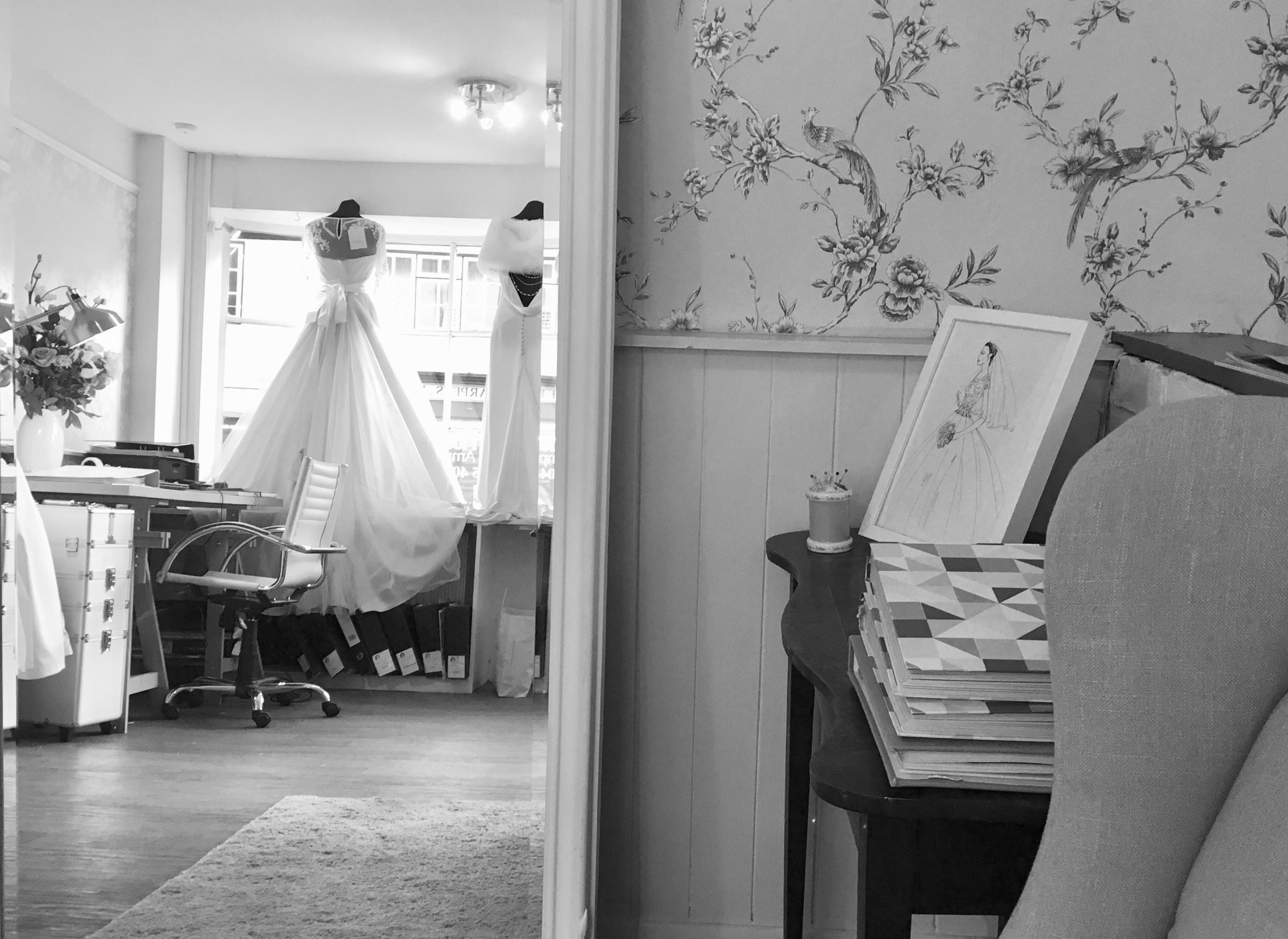 The Wedding Workshop - wedding dress & bridal gown shop in Ampthill, Bedfordshire, near Hitchin, Woburn, Milton Keynes