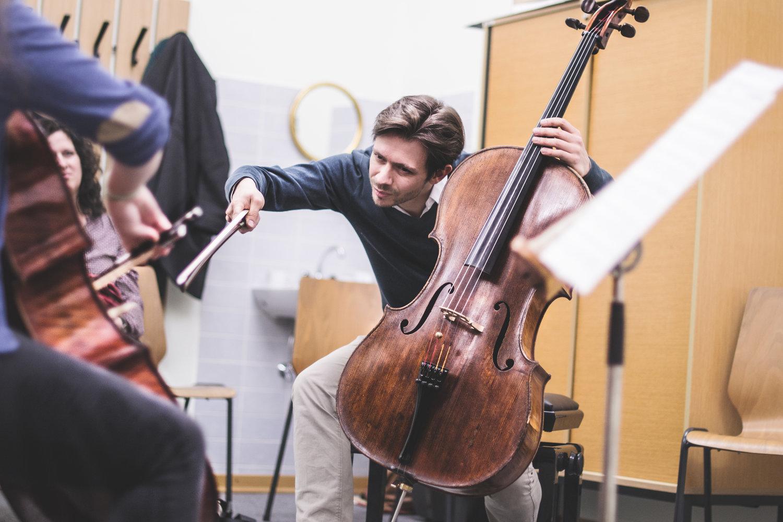 Prof. Mathias Johansen - Künstlerische LeitungCello