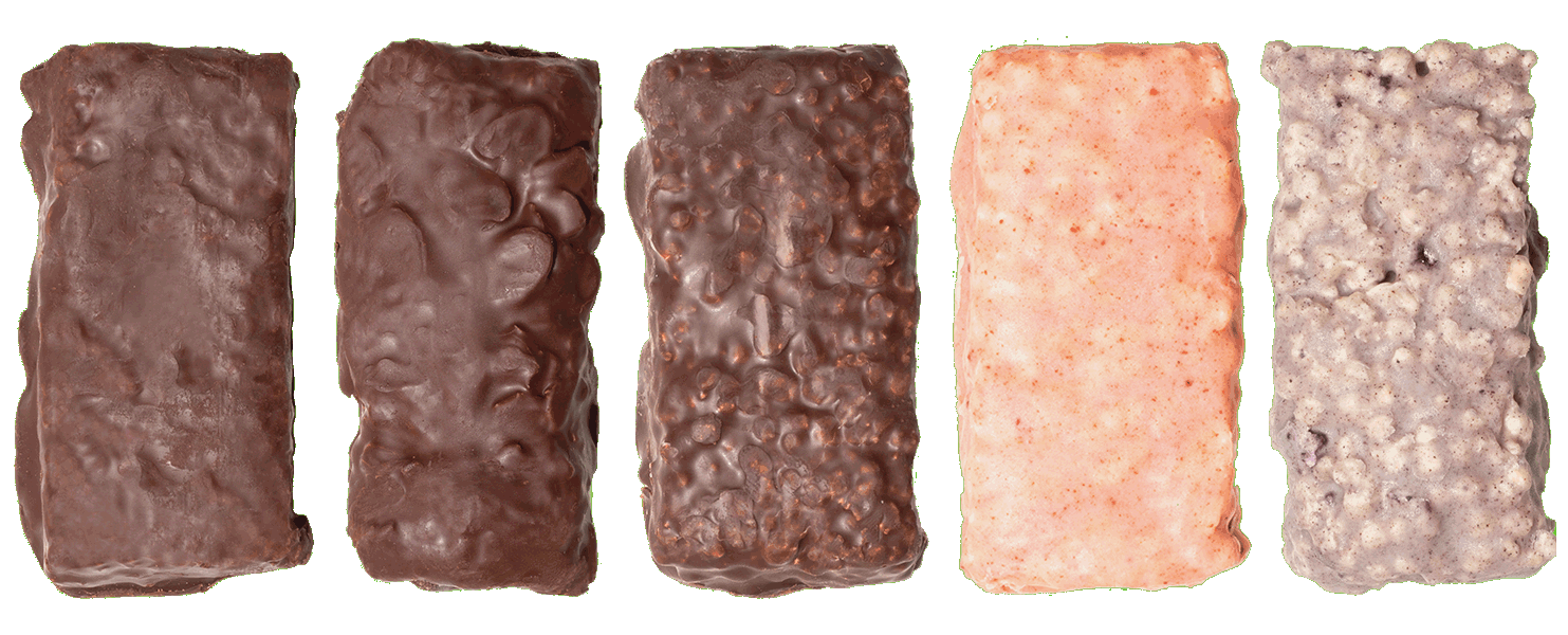 Nutrativa Whey Protein Bars in 5 flavors