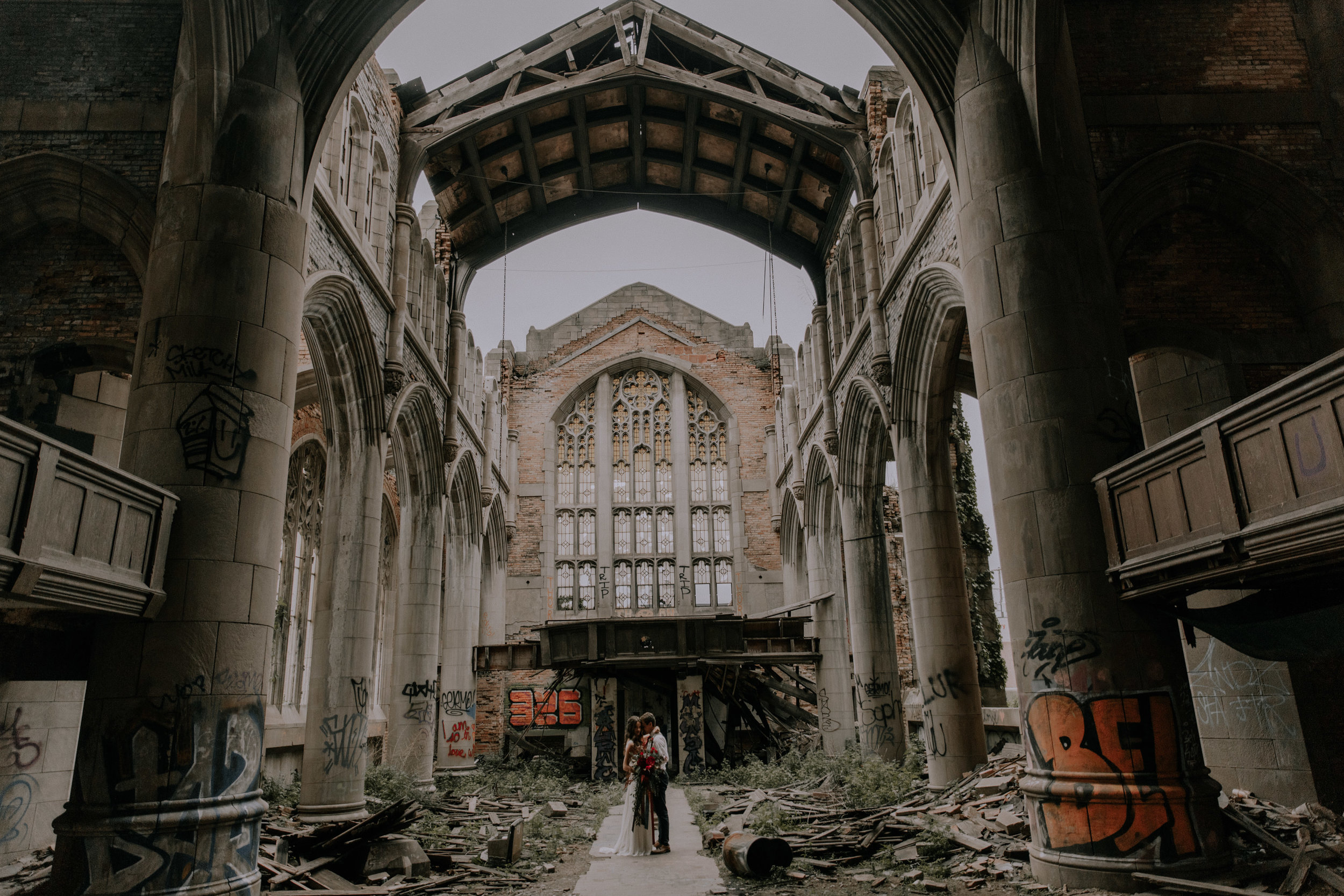 Game of Thrones AND church ruins elopement