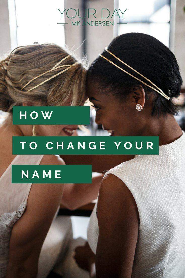 How to Change your name after getting married
