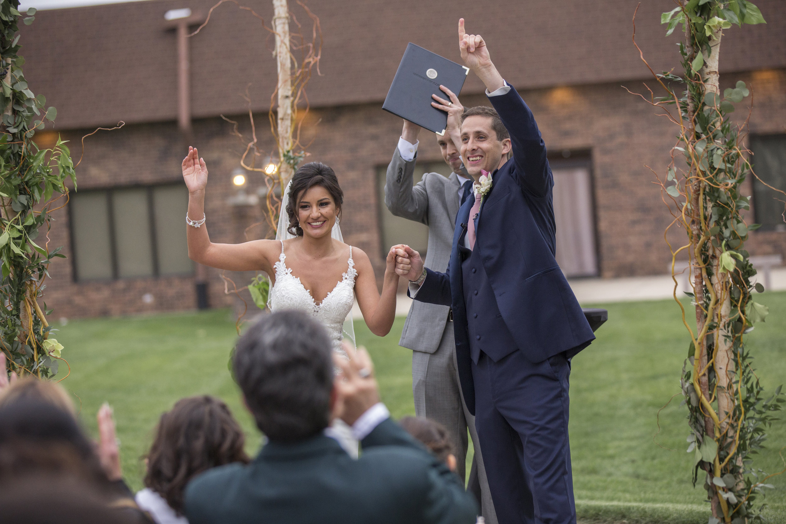 Chicago Wedding | Chicago Month of Coordination | Day of Coordinator | May Wedding | Outdoor Ceremony | Your Day by MK