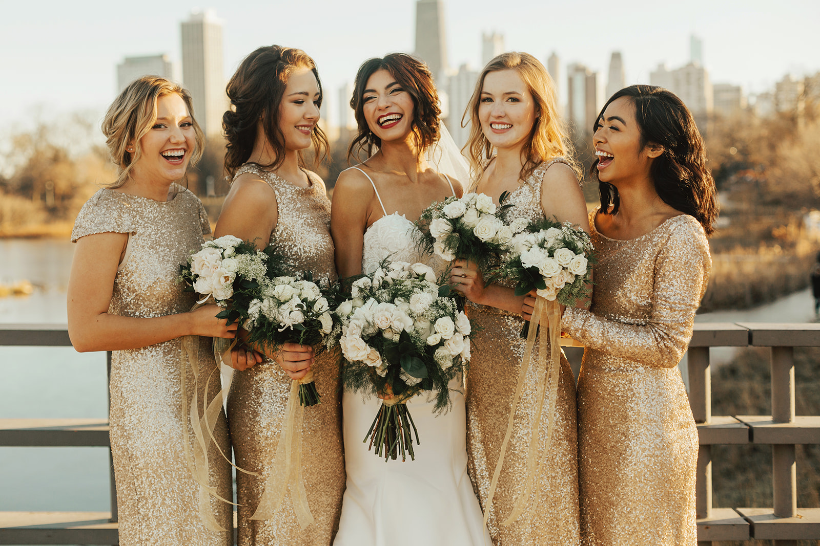 Chicago Winter Wedding Lincoln Park Bridal Photos | Your Day by MK | Chicago Wedding Planner