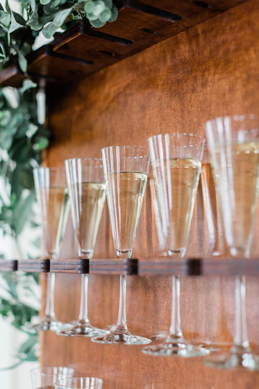 Champagne Wall | Wedding Champagne | Chicago History Museum | Black and White Wedding | Black Tie Wedding | Your Day by MK | Chicago Wedding Planner | Black Flatware