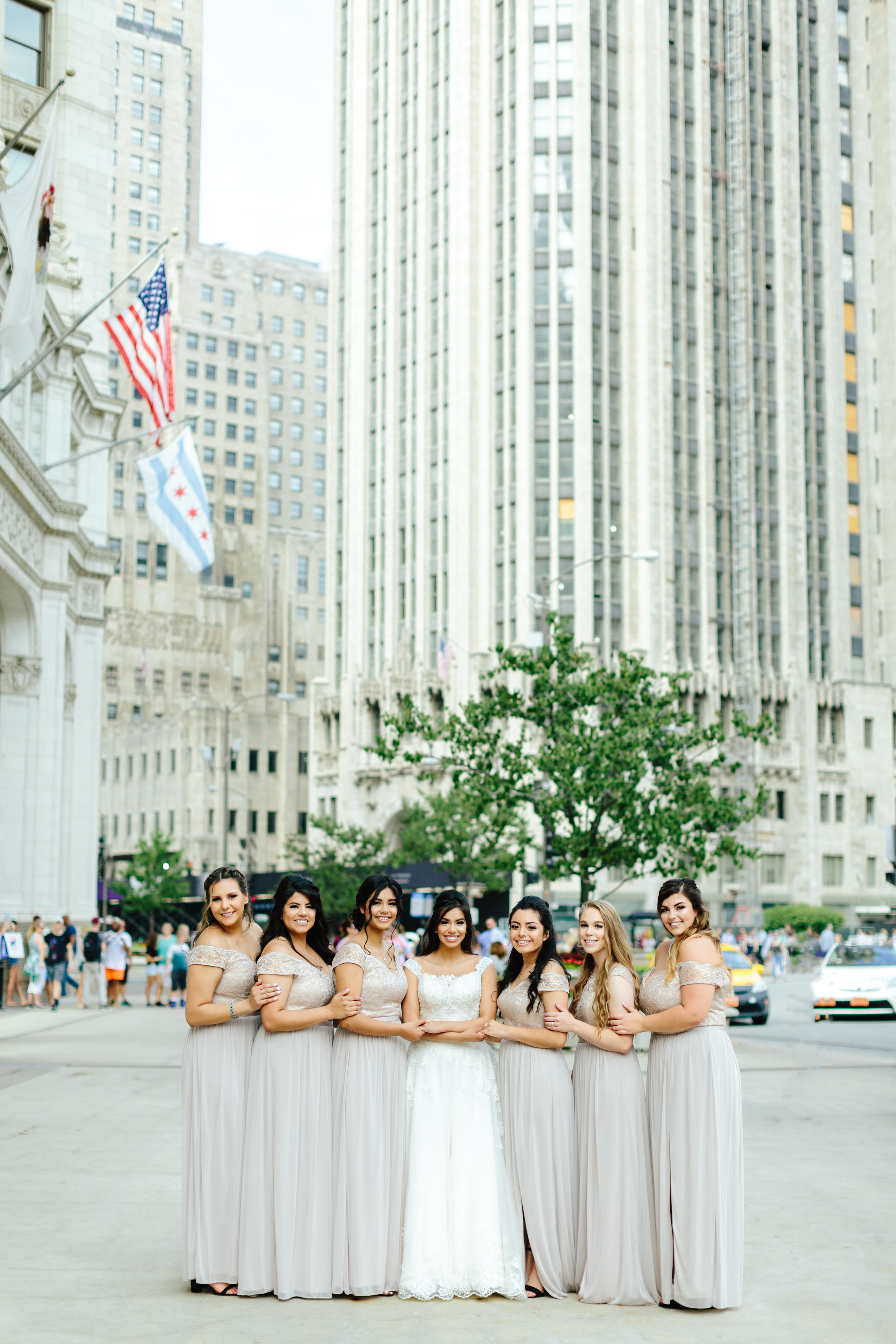 Your Day by MK | Chicago Wedding Planner | Chicago Wrigley Building Wedding Photos
