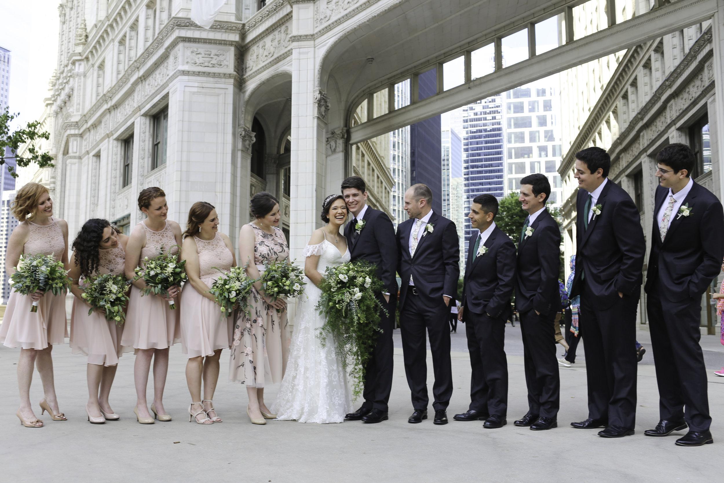 Your Day by MK   Salvatore's Wedding   Chicago Wedding   Winter Garden Wedding   Wrigley Building Wedding
