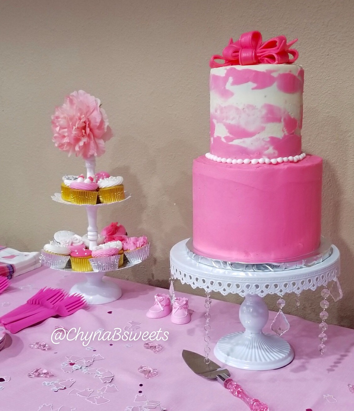Baby Shower Cake: It's A Girl