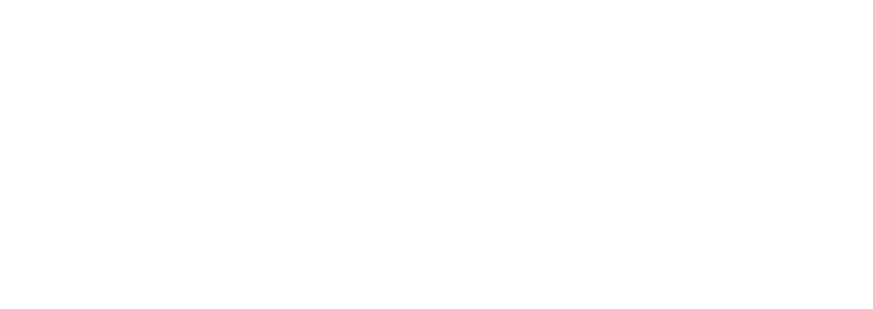 Line drawing of three potted plants