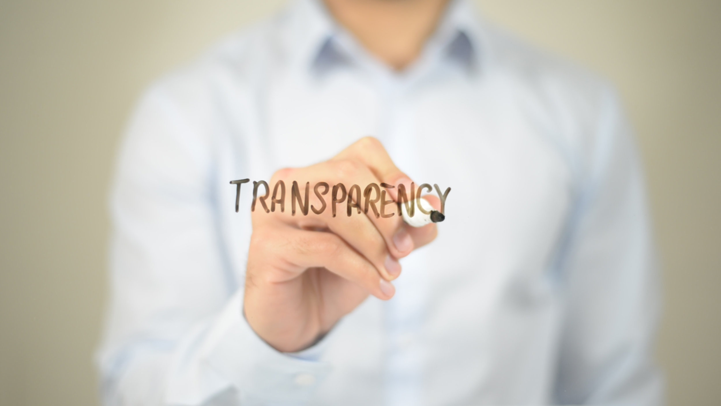 Transparency of Blockchain