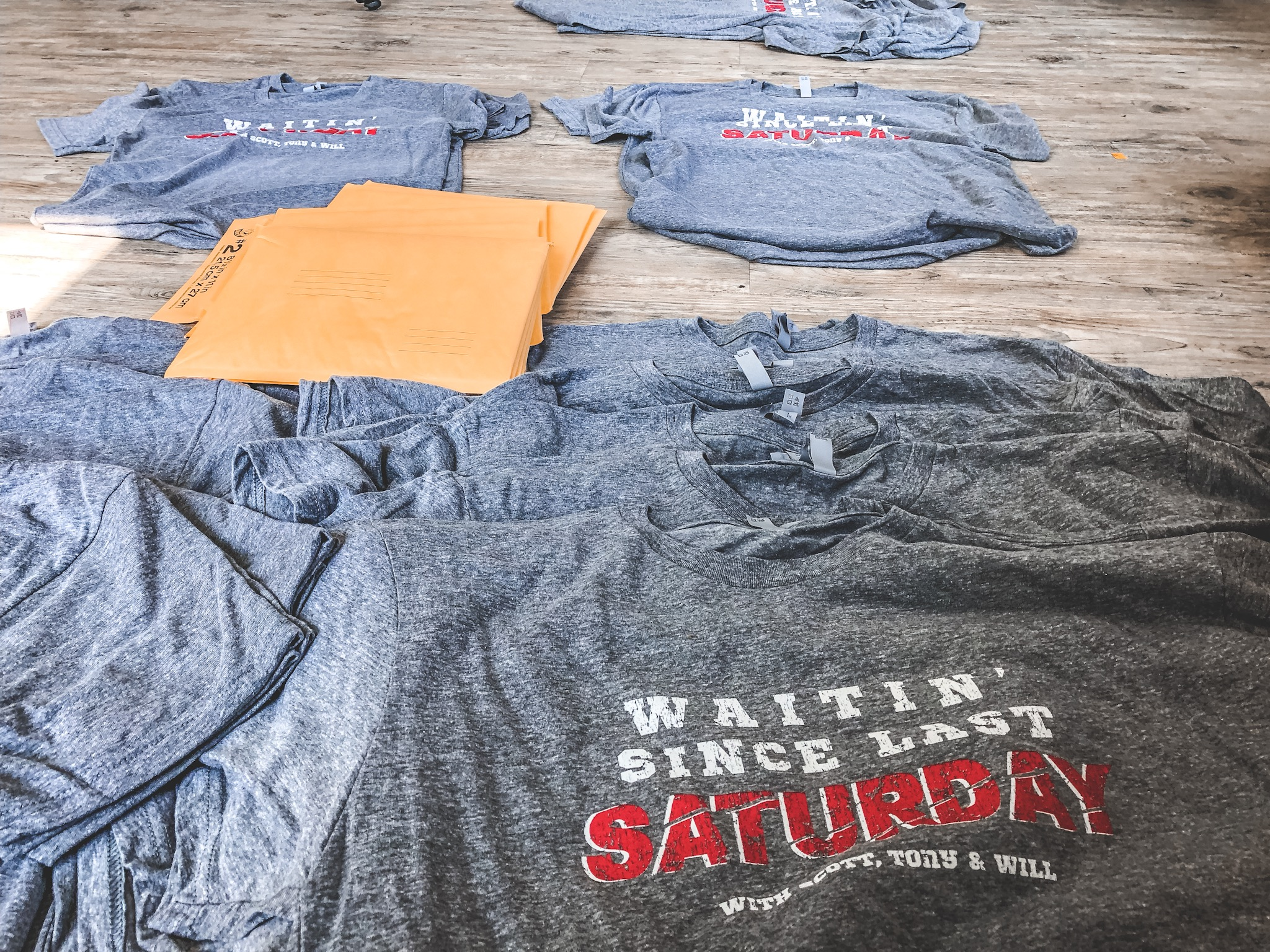 The Official WSLS Podcast T-shirts